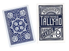 Tally Ho Fan Back Poker size Cards (Blue)