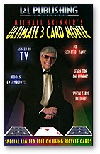 Ultimate 3 Card Monte by Michael Skinner (rot)