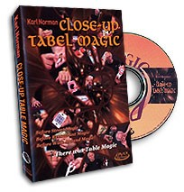 DVD Close-Up Table Magic by Karl Norman