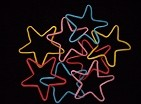 Rubber Band Shapes (star)/ Vorgeformte Gummibänder (Stern)