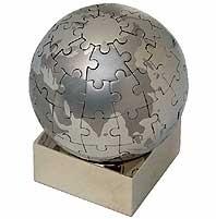 Eureka-Puzzle Globus