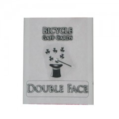 Bicycle Doppel-Bildkarte / Double Face (blaue Box)