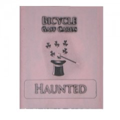 Bicycle Kartensteiger / Haunted Deck (rot)
