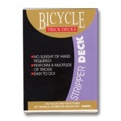 Bicycle Stripper Deck (rot)