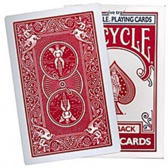 Bicycle Riesenkarten (rot)/ Big Bicycle Cards (Red)