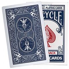 Bicycle Riesenkarten (blau)/ Big Bicycle Cards (blue)