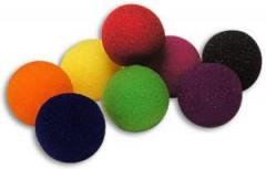 1 1/2 Inch Super Soft Sponge Balls by Goshman (rot)