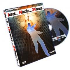 DVD 1 Deck 14 Tricks 24 Hours Vol. 1 by Matthew J. Dowden
