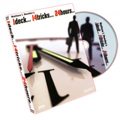 DVD 1 Deck 14 Tricks 24 Hours Vol. 2 by Matthew J. Dowden