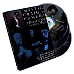 DVD Mystic Craig's Camera (3-DVD set)