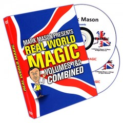 DVD Real World Magic (2 DVD Set) by Mark Mason and JB Magic