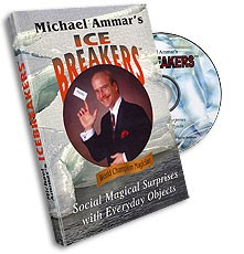 DVD Ice Breakers by Michael Ammar (w/ cards)