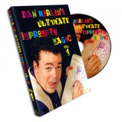 DVD Ultimate Impromptu Magic Vol.1 by Dan Harlan
