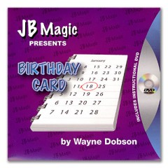 DVD Birthday Card by Wayne Dobson and JB Magic