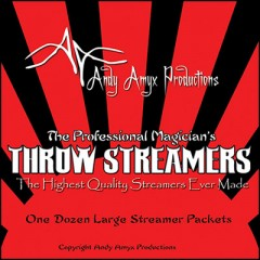 Deluxe Throw Streamers by Andy Amyx