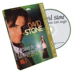 DVD Basic Coin Magic by David Stone Vol.1