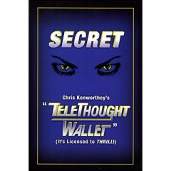 Telethought Wallet (SMALL) by Chris Kenworthey