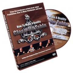 DVD How to Make a Close Up Table by James L. Clark