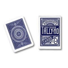 Tally Ho Circle Back Poker size Cards (Blue)