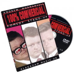 DVD 100% Commercial Vol.1 - Comedy Stand Up by Andrew Normansell