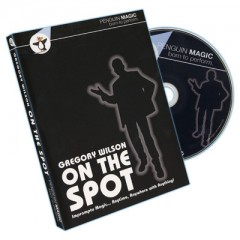 DVD On The Spot by Gregory Wilson (2 Volumes on 1 DVD!)