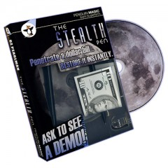 Stealth Pen (DVD and Props) by Oz Pearlman