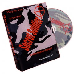 DVD Secret Soldier by Wayne Fox and Merchant of Magic