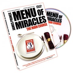 DVD Menu of Miracles III - The Main Course by James Prince
