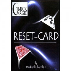 Reset Card (RED) by Mickael Chatelain
