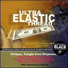 Ultra Elastic Thread (Black) by Ben Harris