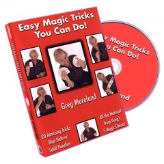 DVD Easy Magic Tricks You Can Do by Greg Moreland