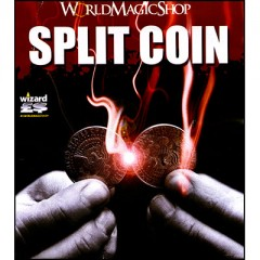 Split Coin (2 Euro Gimmicked coin only)