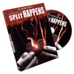 DVD Split Happens by Craig Petty and World Magic Shop