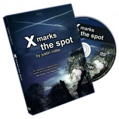 DVD X Marks The Spot (With Cards) by Justin Miller