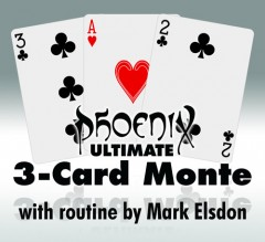 Phoenix Ultimate 3-Card Monte (rot)