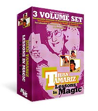 3 DVD Set Combo - Juan Tamariz Lessons in Magic