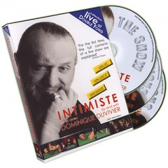 DVD Intimiste (3 DVD Set) by Dominique Duvivier