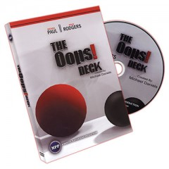 Oops Deck (Deck and DVD) by Michael Daniels