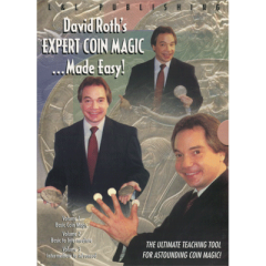 DVD Roth Expert Coin Magic Collection Vol. 1-3