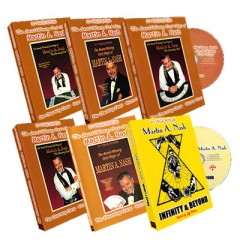 DVD Award Winning Card Magic Set (6 DVD) by Martin Nash