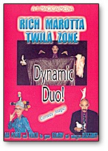 DVD Dynamic Duo by Rich Moratta and Twila Zone