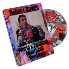 DVD Worlds Funniest Mouthcoil Routine by Robert Baxt