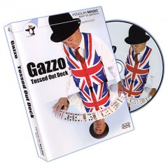Gazzo Tossed Out Deck with DVD (Blue Deck) by Gazzo