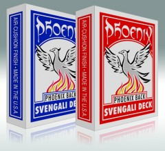 Phoenix Svengali Deck (rot)