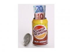 Schwipp Schwapp Dosensafe mit Geheimfach/ unsichtbarer Tresor