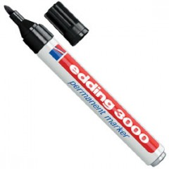 edding® 3000 permanent marker (schwarz)