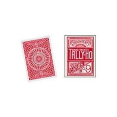 Tally Ho Circle Back Poker size Cards (Red)