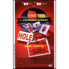The (W)hole Thing by Fooler Dooler (With Cards and DVD)