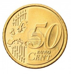 Magnetic 50 Cent Euro Coin super strong (Kreis Magic)