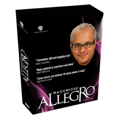 Allegro by Mago Migue and Luis De Matos (4 DVD Set)